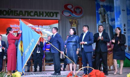 """""""ДБЭХС"""" ТӨХК Монгол Улсын төрийн дээд шагнал """"Алтан гадас"""" одонгоор шагнагдлаа"""