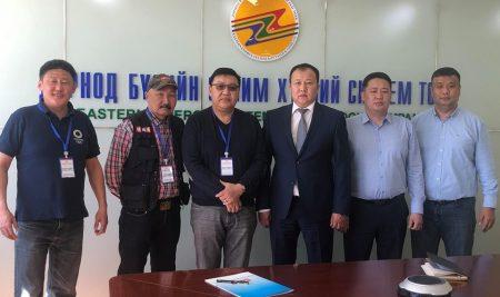 Монголын үндэсний олон нийтийн телевизтэй хамтран ажиллах гэрээ байгууллаа