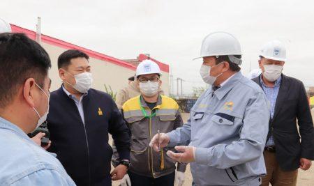 Монгол улсын Ерөнхий сайд Л.Оюун-Эрдэнэ төслийн үйл ажиллагаатай танилцлаа